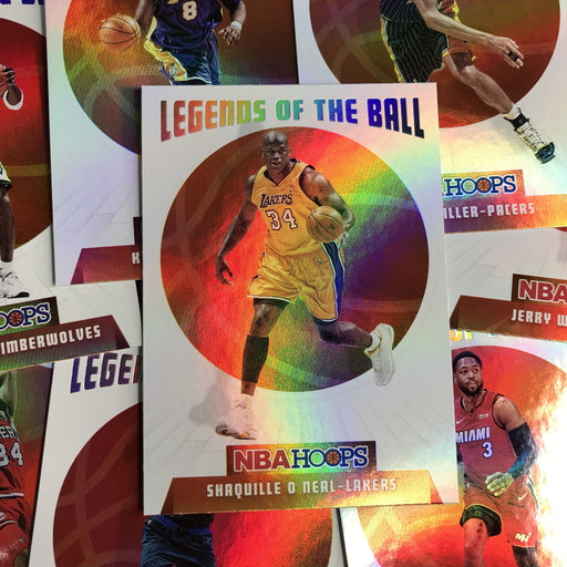 2019-20 Hoops SHAQUILLE O'NEAL Legends of the Ball #14-Cherry Collectables