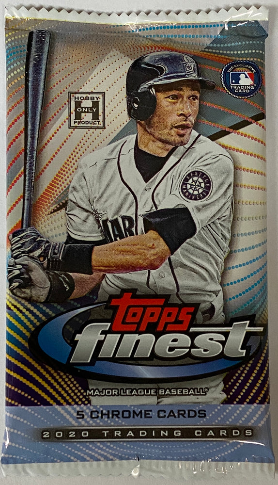 2020 Topps Finest Baseball Hobby Pack-Cherry Collectables