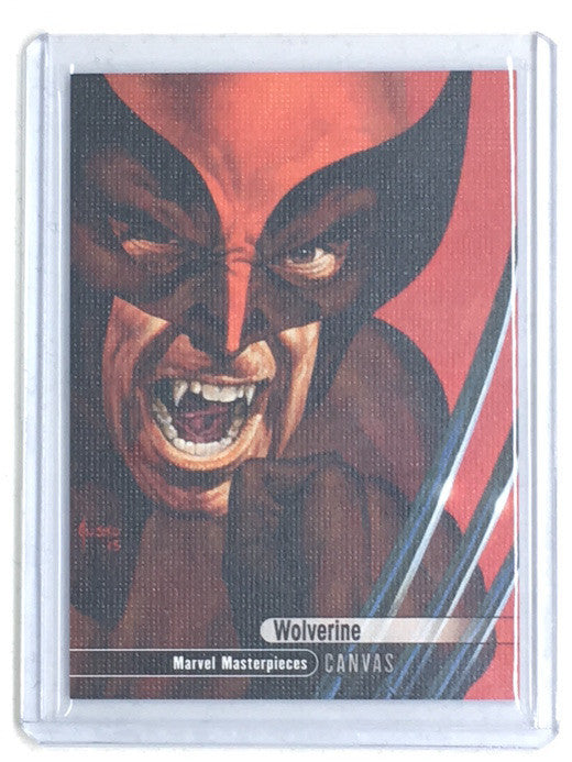 2016 Marvel Masterpieces WOLVERINE Canvas #92 - Cherry Collectables
