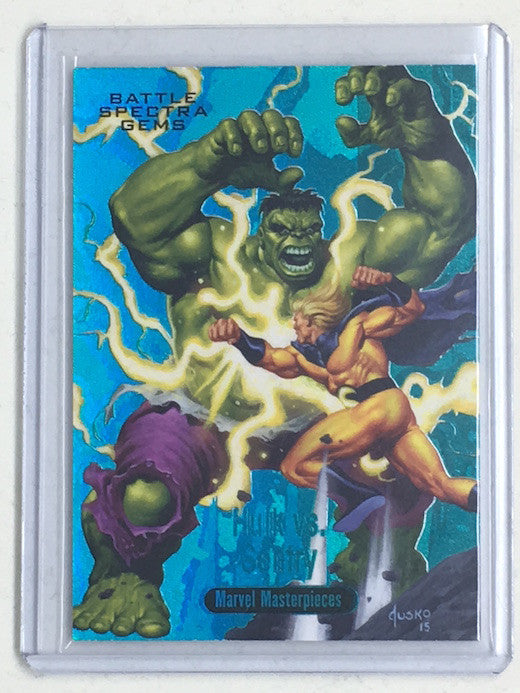 2016 Marvel Masterpieces HULK VS SENTRY 65/99 #BS-12-Cherry Collectables