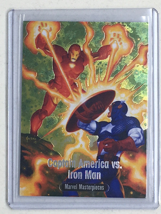 2016 Marvel Masterpieces CAPTAIN AMERICA vs IRON MAN #BS-9 - Cherry Collectables