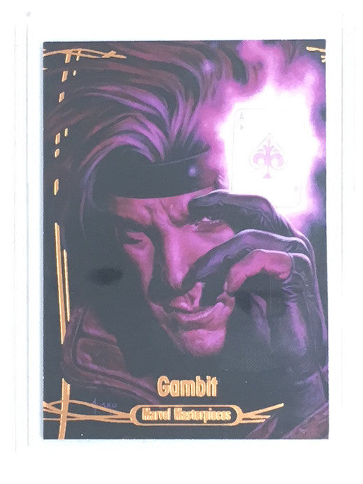 2016 Marvel Masterpieces GAMBIT 77/99 #57 - Cherry Collectables
