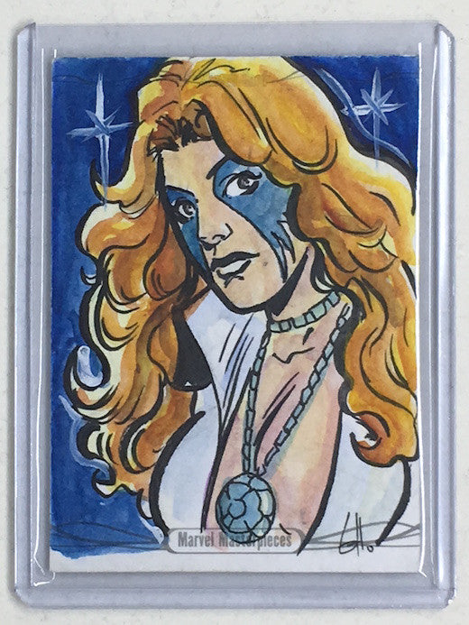 2016 Marvel Masterpieces EMMA Sketch - Cherry Collectables