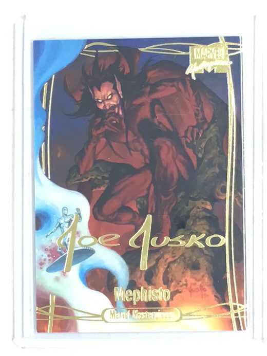 2016 Marvel Masterpieces MEPHISTO Gold Foil #83-Cherry Collectables