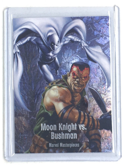 2016 Marvel Masterpieces MOON KNIGHT VS BUSHMAN #BS-7 - Cherry Collectables