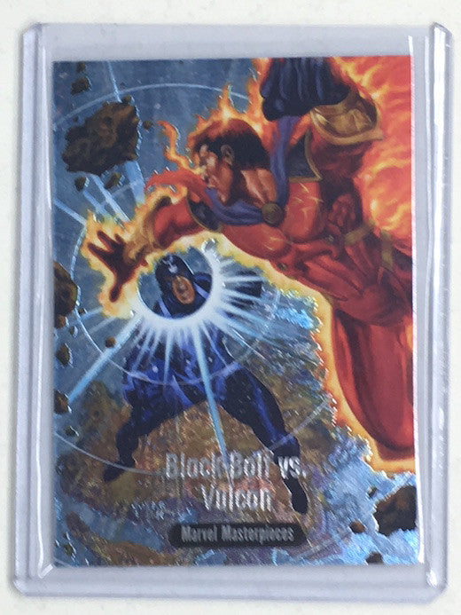 2016 Marvel Masterpieces BLACK BOLT VS VULCAN #BS-13 - Cherry Collectables