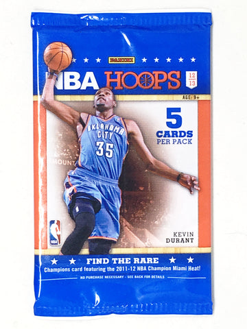 2012/13 NBA Hoops Basketball Retail Pack - Cherry Collectables