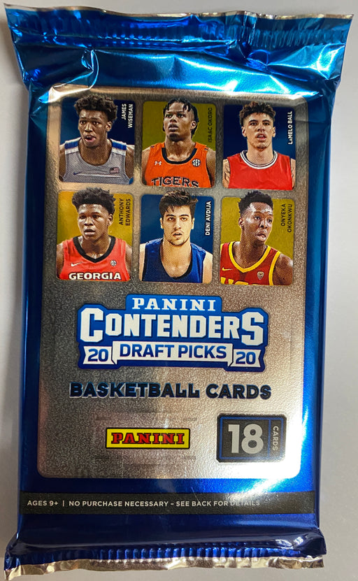2020-21 Panini Contenders Draft Picks Basketball Pack-Cherry Collectables