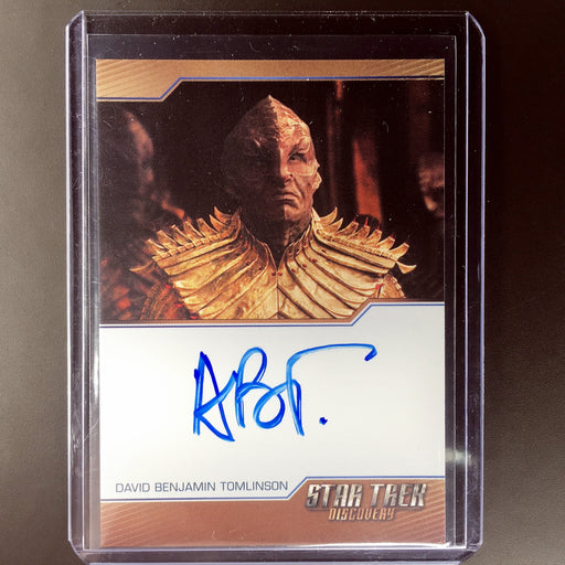 2018 Star Trek Discovery DAVID BENJAMIN TOMLINSON Or'Eq Auto-Cherry Collectables