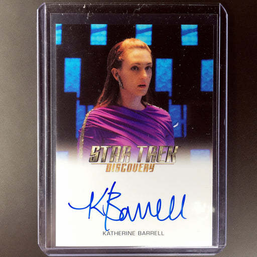 2018 Star Trek Discovery KATHERINE BARRELL Stella Auto-Cherry Collectables