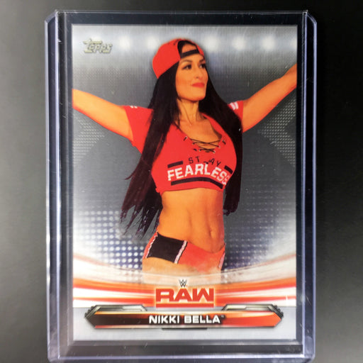 2019 Topps WWE Raw NIKKI BELLA Silver 22/25-Cherry Collectables