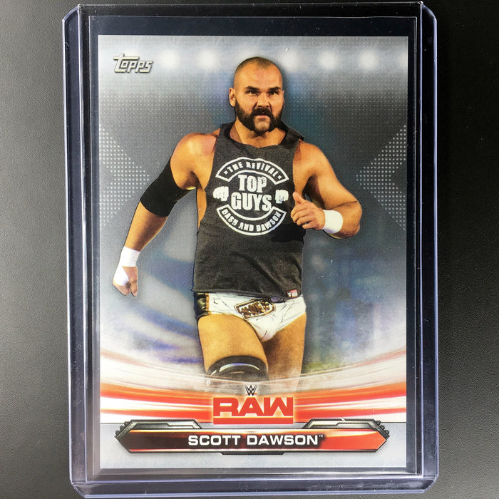 2019 Topps WWE Raw SCOTT DAWSON Silver 11/25-Cherry Collectables