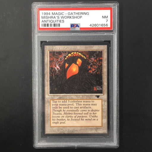 PSA 7 1994 Mishra's Workshop - Antiquities-Cherry Collectables