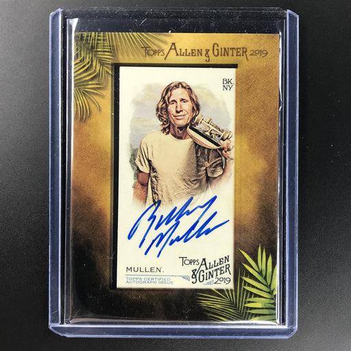 2019 Allen & Ginter RODNEY MULLEN Mini Auto #MA-RM SSP-Cherry Collectables