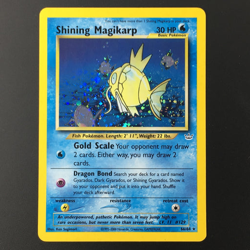 Shining Magikarp - 66/64 - Holo Unlimited-Cherry Collectables