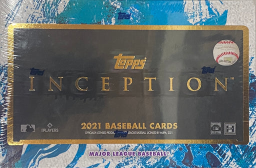 2021 Topps Inception Baseball Hobby Box-Cherry Collectables