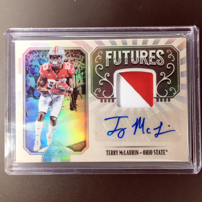 2019 Legacy TERRY MCLAURIN Futures Patch Auto #FM-TM