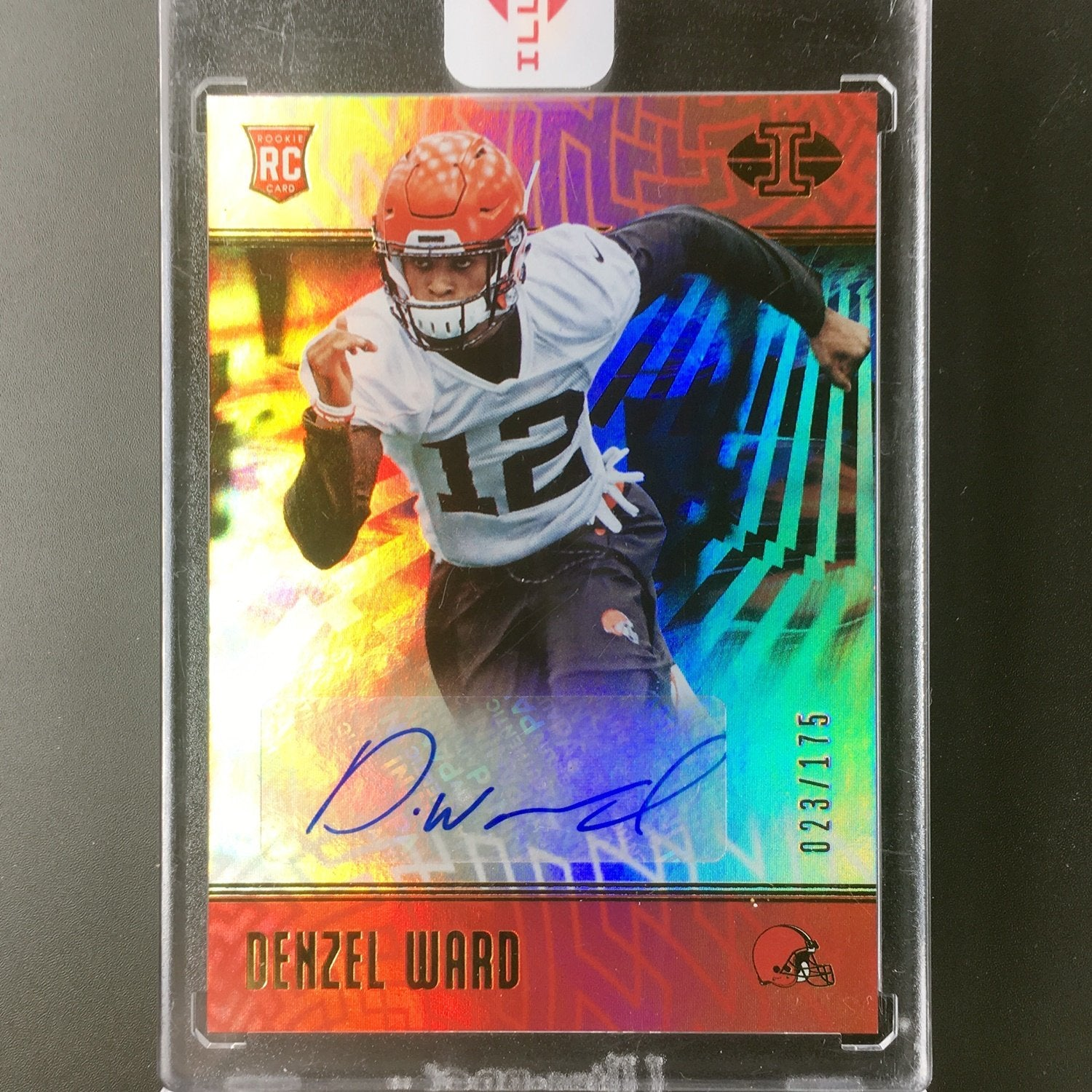 2018 Illusions DENZEL WARD Rookie Auto 23/175-Cherry Collectables