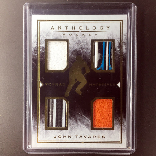 2014-15 Anthology JOHN TAVARES Tetrad Materials 41/80-Cherry Collectables