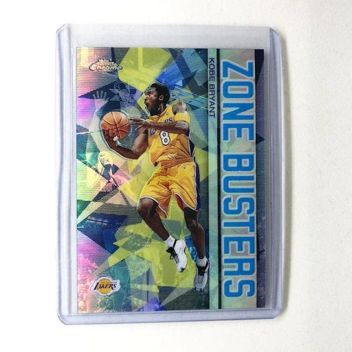 02-03 Topps Chrome KOBE BRYANT Zone Busters Refractor #ZB8-Cherry Collectables