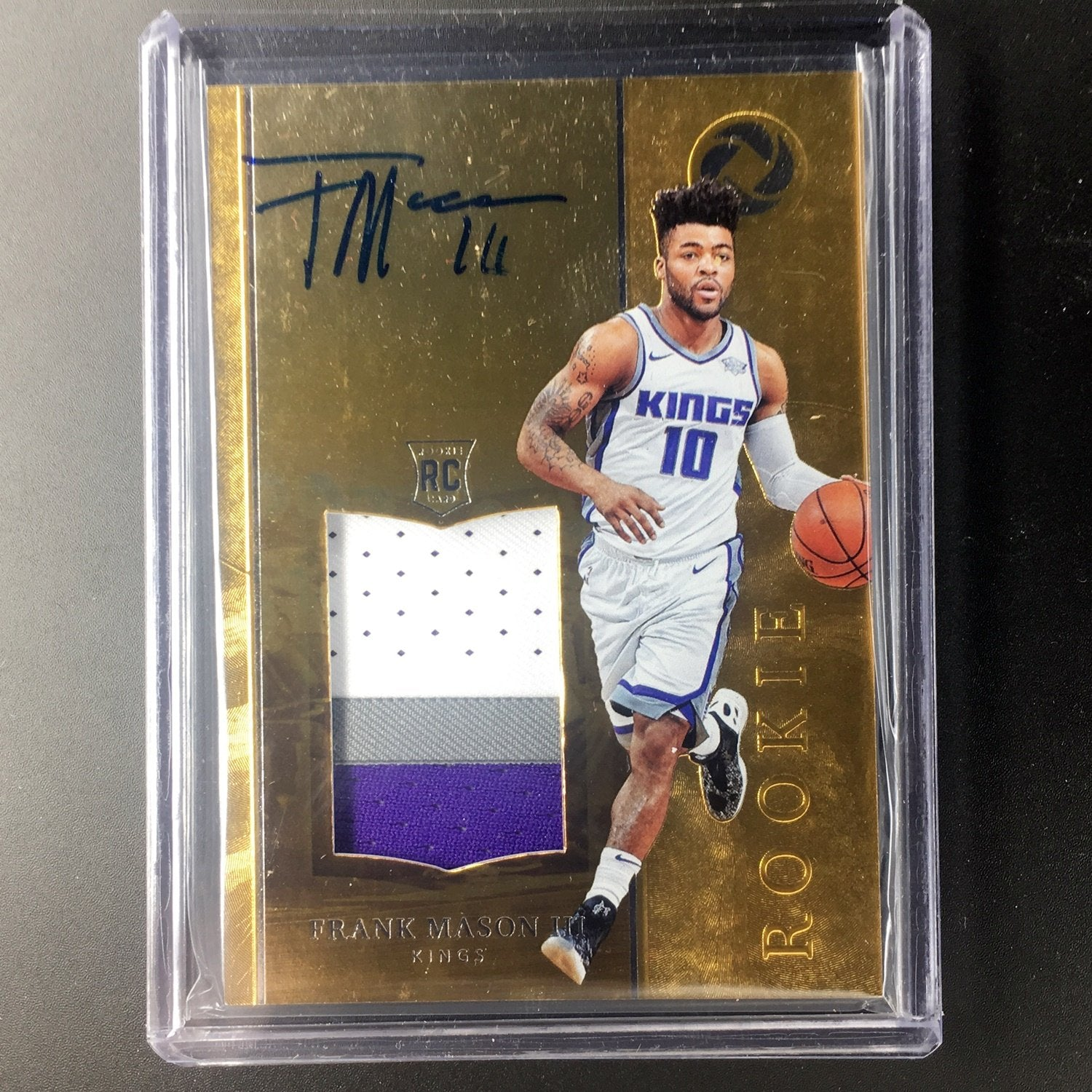 2017-18 Opulence FRANK MASON III Rookie Patch Auto 4/25-Cherry Collectables