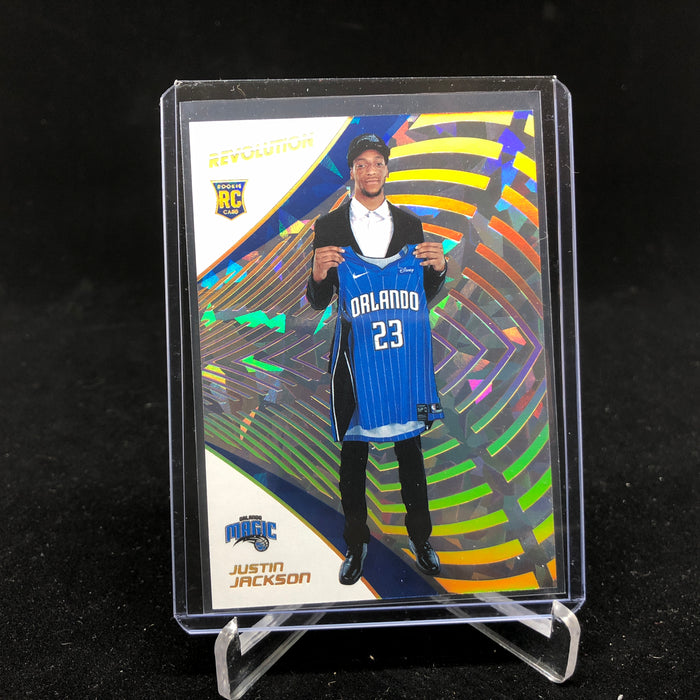 18-19 Revolution JUSTIN JACKSON RC Chinese New Year Holo Gold 5/8-Cherry Collectables