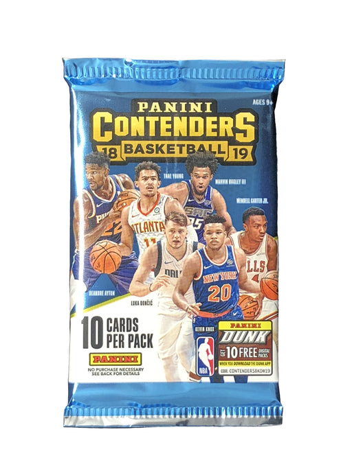 2018-19 Panini Contenders Basketball Hobby Pack-Cherry Collectables