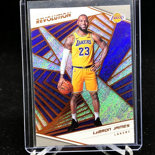 18-19 Revolution LeBRON JAMES #40 First Lakers Card-Cherry Collectables
