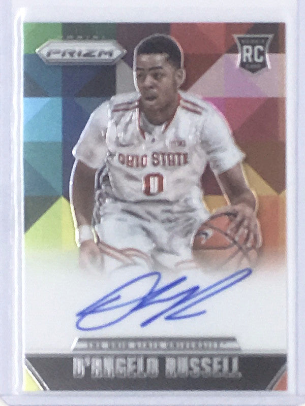 15-16 Prizm D'ANGELO RUSSELL Auto Ohio State RC SP-Cherry Collectables
