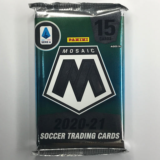 2020-21 Panini Serie A Mosaic Soccer Hobby Pack