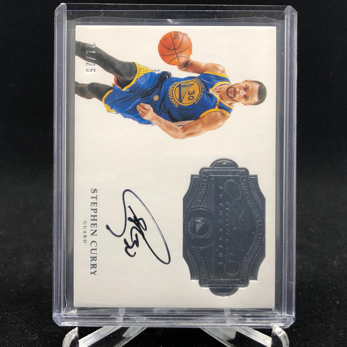 16-17 Flawless STEPHEN CURRY Autographs FA-SC /25-Cherry Collectables