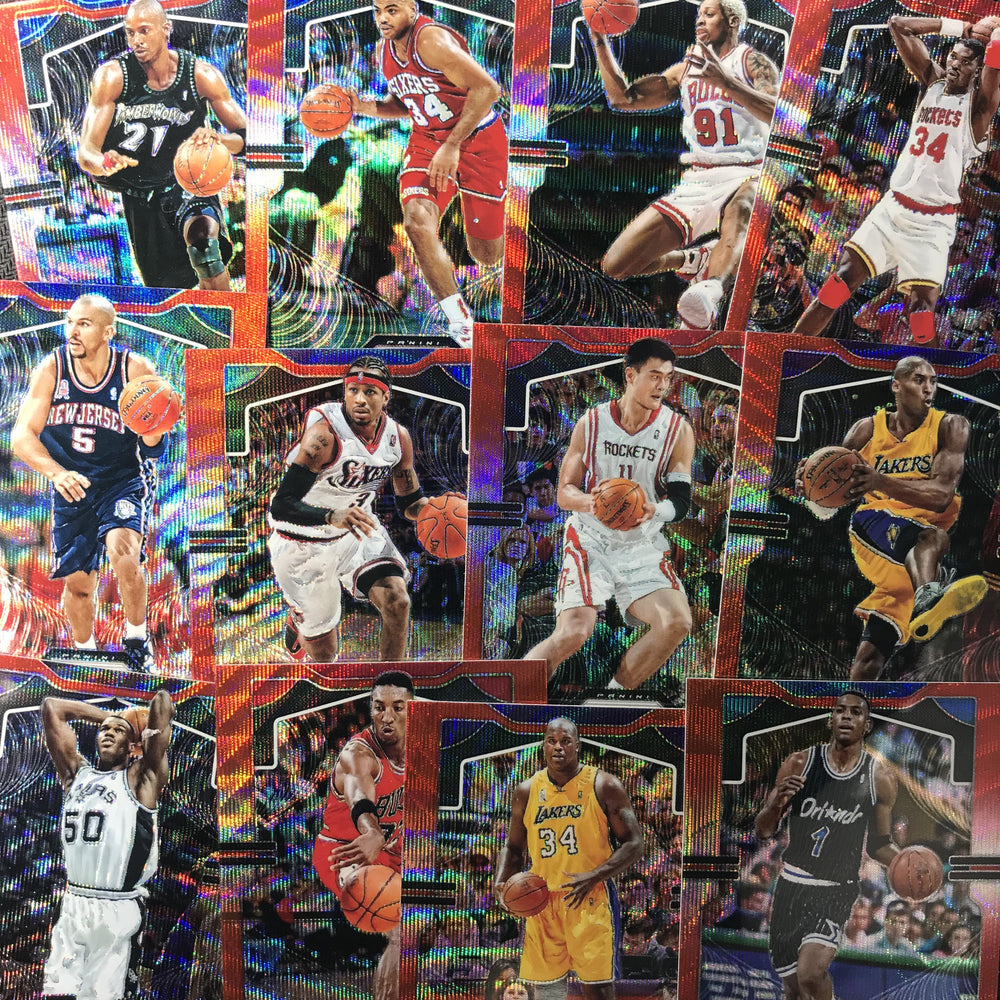 2019-20 Prizm DERRICK FAVORS Ruby Wave Prizm #169-Cherry Collectables