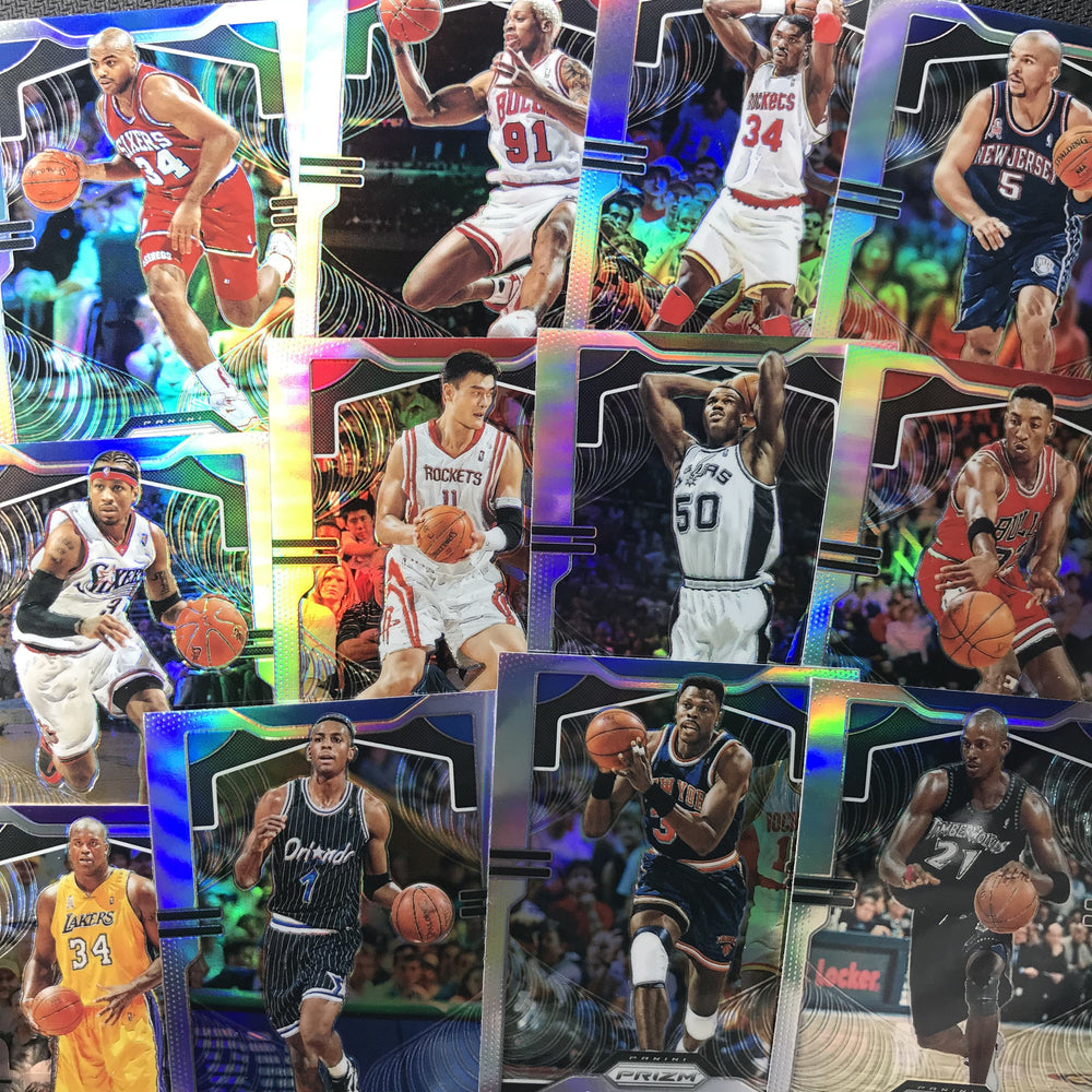 2019-20 Prizm YAO MING Silver Prizm #7-Cherry Collectables
