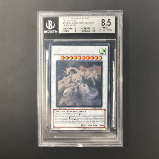 Shooting Star Dragon - STBL-EN040 - Ghost Rare 1st Edition - BGS 8.5 NM-MT+-Cherry Collectables