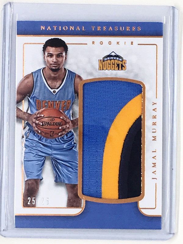 16-17 National Treasures JAMAL MURRAY Bronze Patch 25/25 1/1-Cherry Collectables