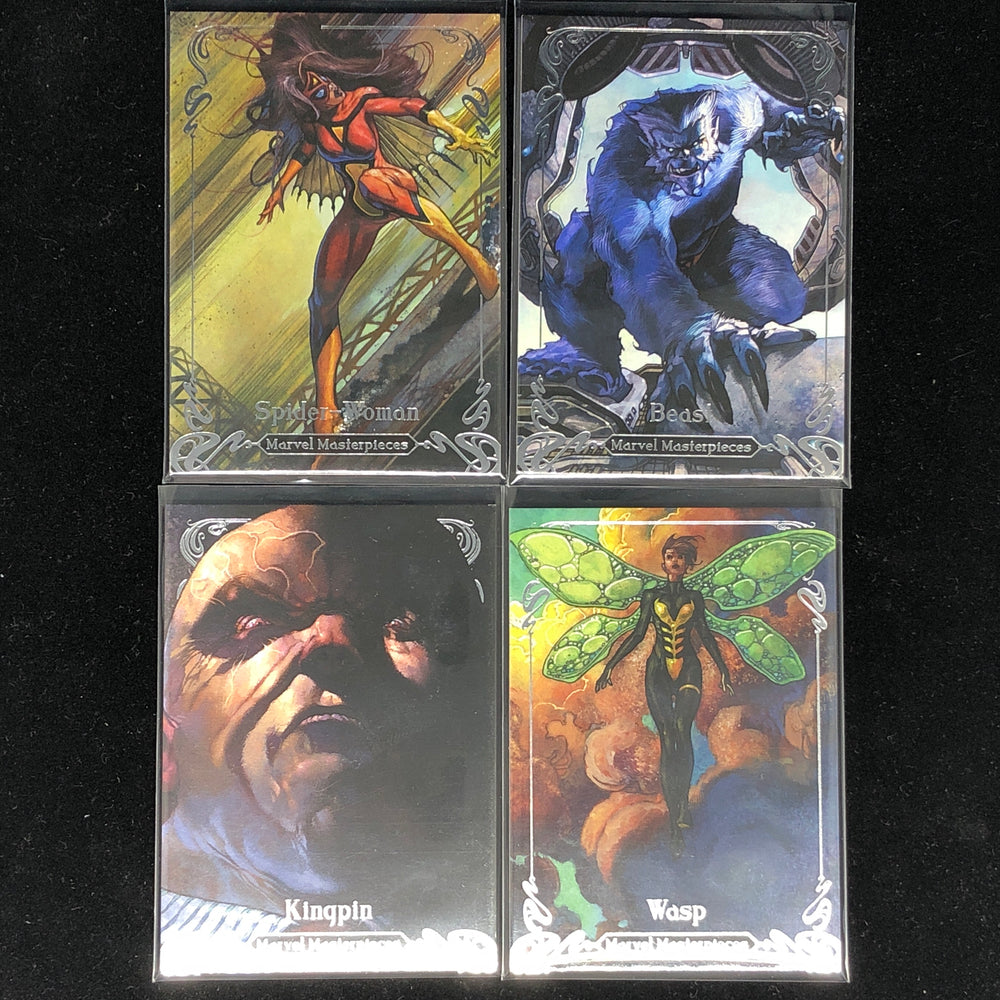 2018 Marvel Masterpieces /1499 TIER 2 - Pick Your Card-Cherry Collectables