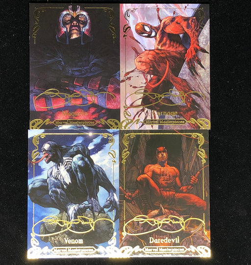 2018 Marvel Masterpieces Gold Foil Tier 1, 2, 3 - Pick Your Card-Cherry Collectables