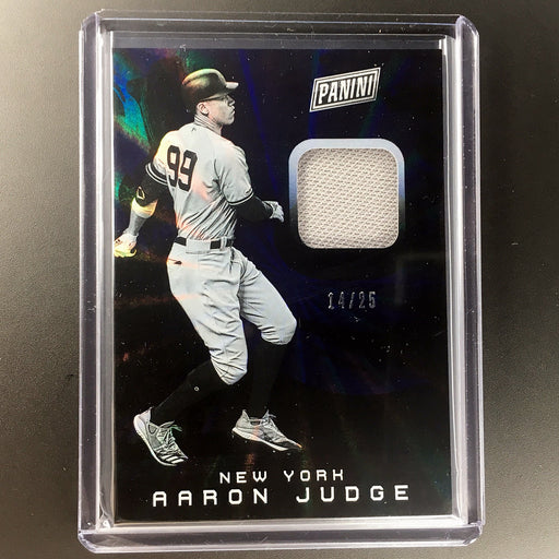 2019 The National AARON JUDGE Laser Patch 14/25-Cherry Collectables