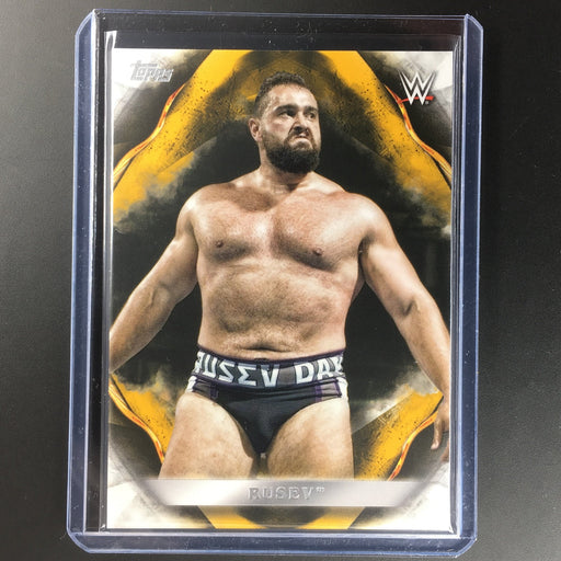 2019 WWE Undisputed RUSEV Gold 2/10-Cherry Collectables