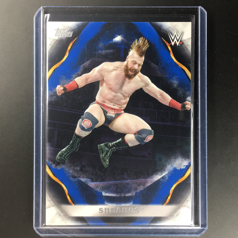 2019 WWE Undisputed SHEAMUS Blue 6/25-Cherry Collectables