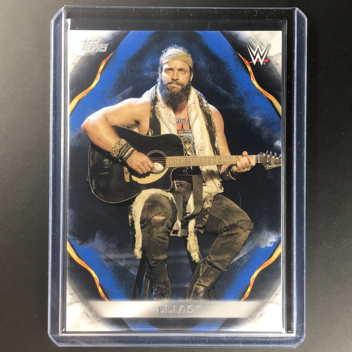 2019 WWE Undisputed ELIAS Blue 8/25-Cherry Collectables