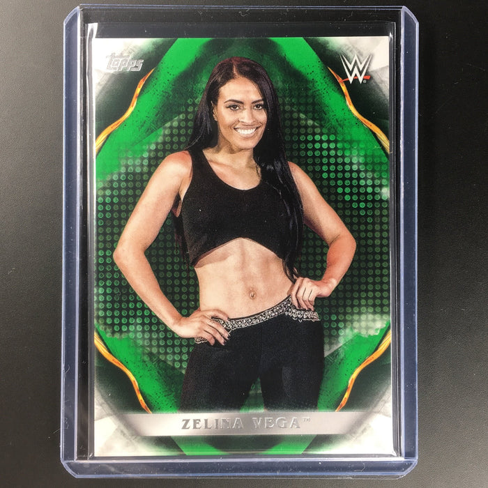 2019 WWE Undisputed ZELINA VEGA Green 33/50-Cherry Collectables