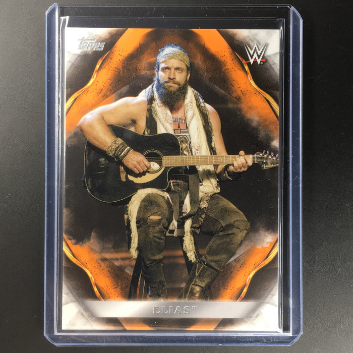 2019 WWE Undisputed ELIAS Orange 54/99-Cherry Collectables
