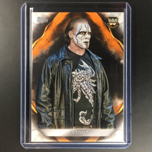 2019 WWE Undisputed STING Orange 52/99-Cherry Collectables