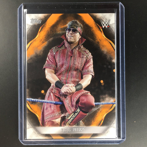2019 WWE Undisputed THE MIZ Orange 31/99-Cherry Collectables
