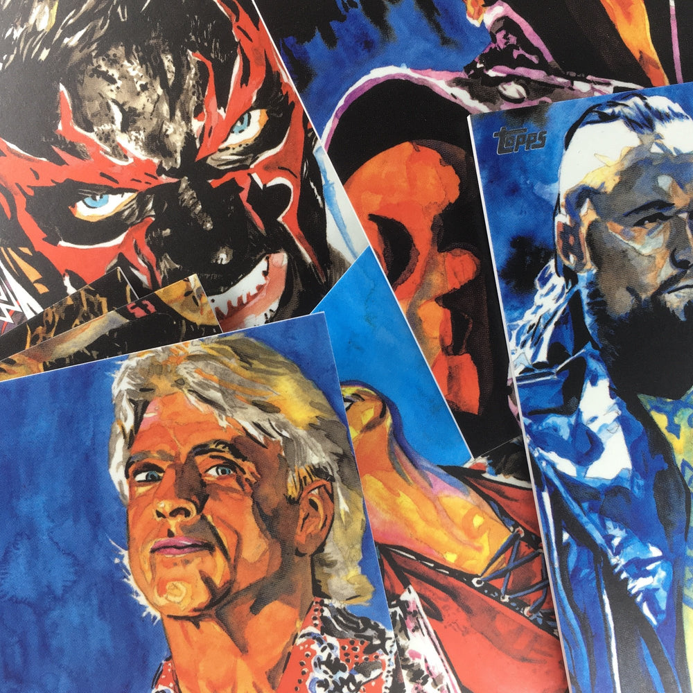 2019 WWE Undisputed SKETCH CARDS Complete Set 10 Cards #2