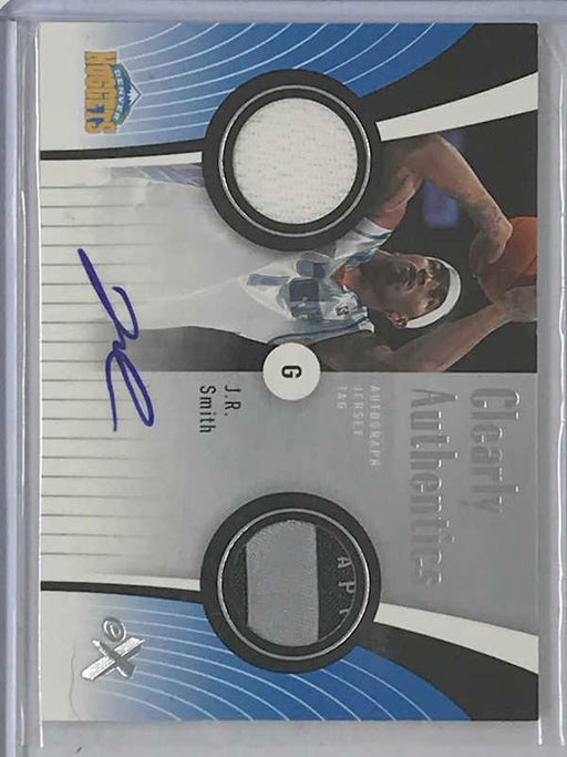 06-07 Fleer E-X J.R. SMITH Auto Jsy Tag 1/10-Cherry Collectables