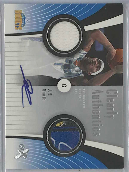 06-07 Fleer E-X J.R. SMITH Auto Jsy Tag 5/10-Cherry Collectables