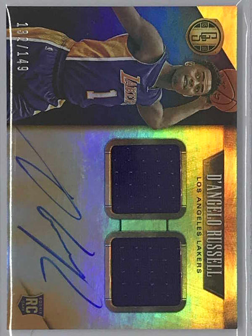 15-16 Gold Standard D'ANGELO RUSSELL Auto Jsy RC 132/149-Cherry Collectables