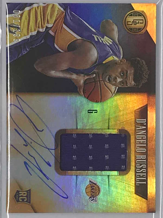 15-16 Gold Standard D'ANGELO RUSSELL Auto Jsy RC 81/199-Cherry Collectables